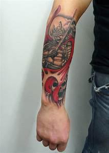Tatouage Arbre Japonais : 1001 id es tatouage samourai le tattoo des guerriers ~ Melissatoandfro.com Idées de Décoration