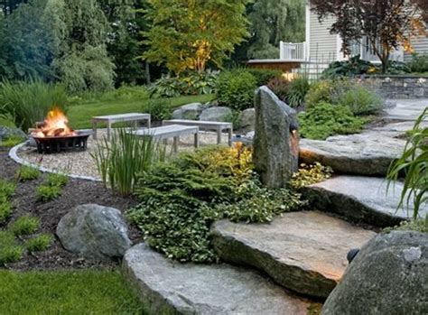 rustic landscape ideas backyard landscaping south berwick me photo gallery landscaping network