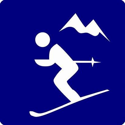 Mountain Skier Clip Clipart Clker