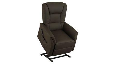 fauteuil releveur 233 lectrique simili cuir fauteuil releveur pas cher