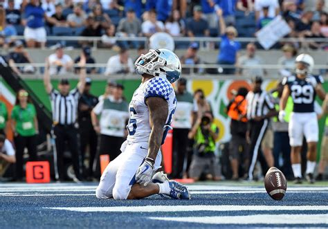 Benny Snell Jr. describes 'best feeling ever' of setting ...