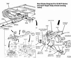93 F350 Rear Brake Line Diagram
