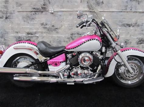 V Star Blush- Roar Custom Motorcycle For Women