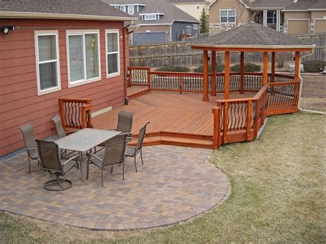 Deck & Patio Combinations  Decktec Outdoor Designs. Patio Stones For Sale Kitchener. Patio Deck Stairs. Porch And Patio Selbyville. Cement Patio Against House. Patio Deck Box. Pvc Patio Furniture. Patio Builders Plainfield Il. Patio Store Jacksonville Fl