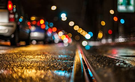 city lights lights bokeh city nights road wallpapers