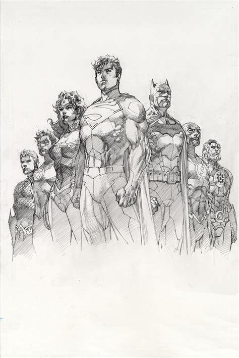 justice league comic art community gallery  comic art