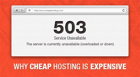cheap web hosting   expensive