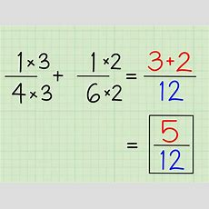4 Ways To Solve Fraction Questions In Math Wikihow