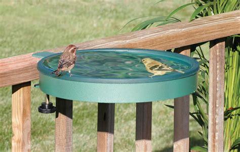 duncraft com cl mount deck bird bath