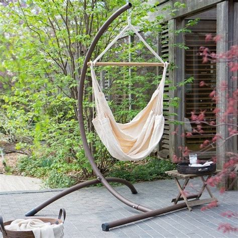 Cotton Hammock Chair by Patio Hanging Chairs 25 Most Comfortable Designs