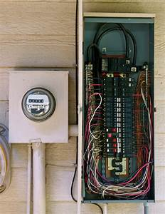 Electrical Service Entrance Panel Wiring Diagram