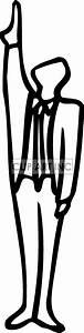 Pics For > Person Pointing Up Clipart
