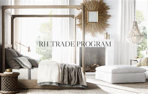 trade sales home rh