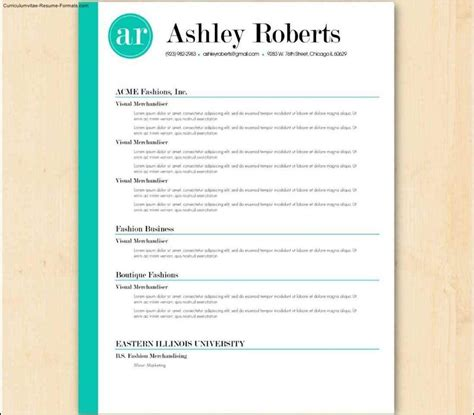 resume templates australia   samples