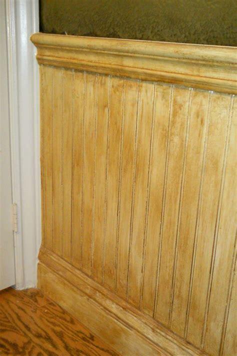 waynes coating wainscoting  antique finish waynes