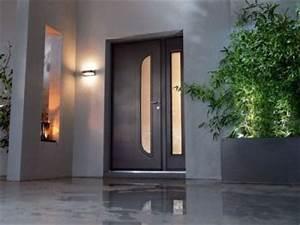 tout savoir sur les portes d39entree With porte d entrée alu avec deco maison salle de bain