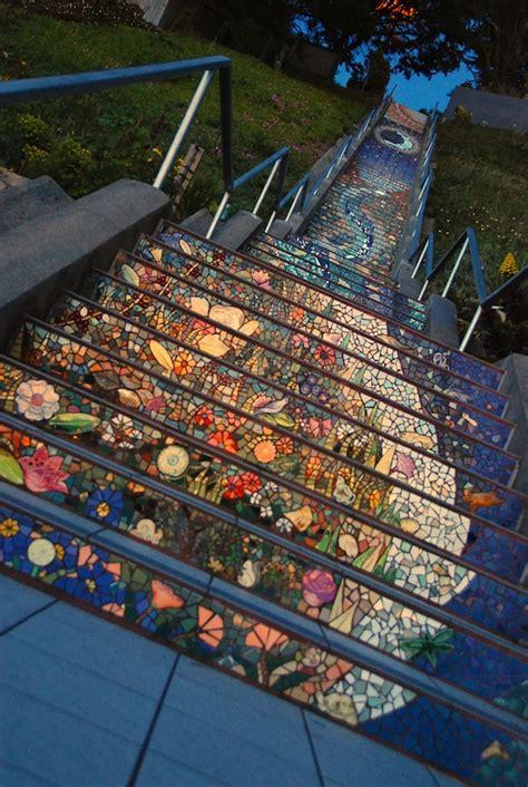 mosaic staircase of san francisco