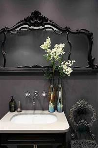 22 Dramatic Gothic Bathroom Designs Ideas | DigsDigs  Dark