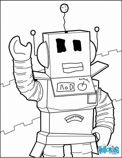 Roblox Coloring Pages Getdrawings