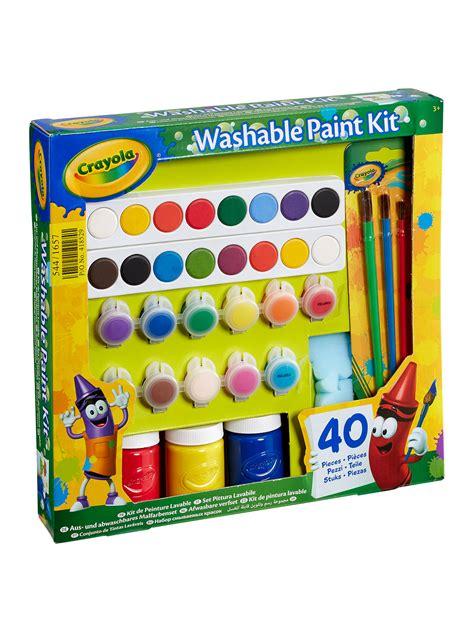 Crayola Washable Paint Kit at John Lewis & Partners