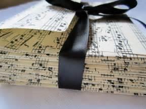 Music Note Themed Wedding Invitations