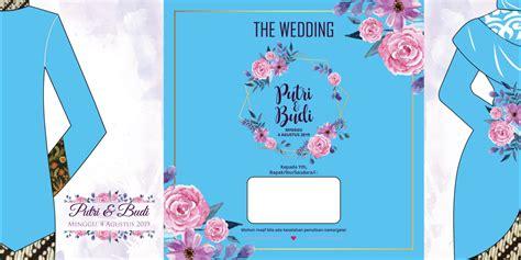 desain undangan pernikahan terbaru gratis