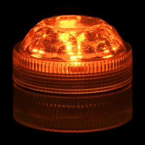 orange led lights orange submersible five led light
