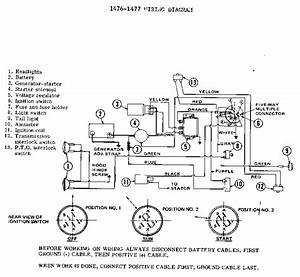 Model 1476 Wiring Diagram