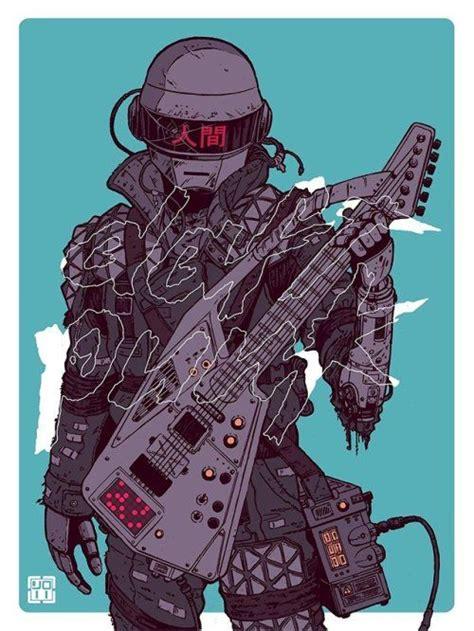 Daftermath - Laurie Greasley | Daft punk, Punk art, Punk ...