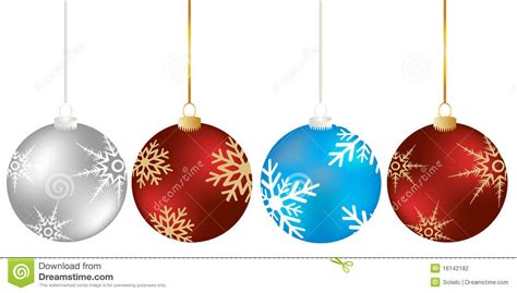 christmas ornaments stock vector image of graphic vector