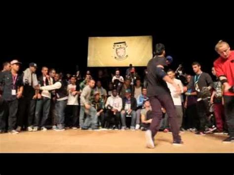 World Bboy Classic 2010  14 Finals  Lil Amok & Sam V