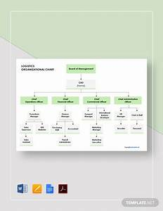 Free Logistics Organizational Chart Template In Microsoft