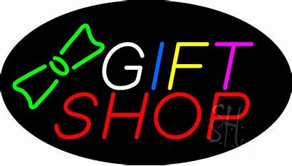 Gift Sign Neon Signs Animated