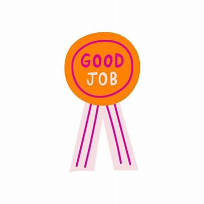 Badge Job Sticker Giphy Tweet