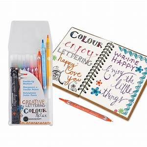 callicreative duotips double ended markers manuscript With hand lettering markers