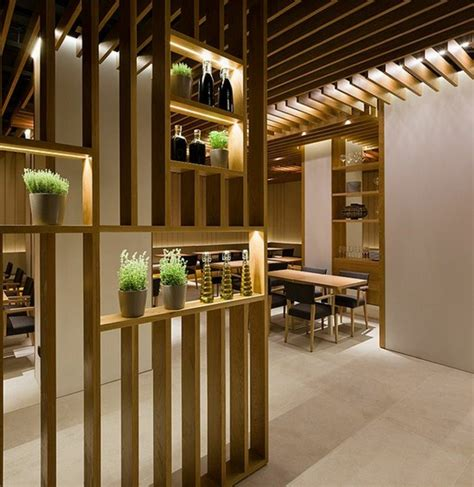 modern living room decorating ideas great designs from the room divider made of wood