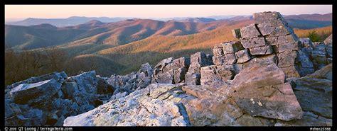 panoramic picturephoto appalachian landscape  rocks
