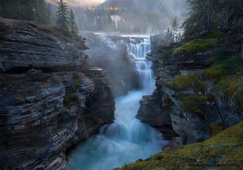 Athabasca Falls Canada Waterfalls Pinterest