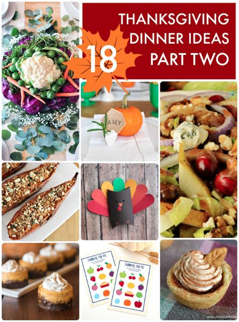 thanksgiving dinner ideas great ideas 18 thanksgiving dinner ideas part two