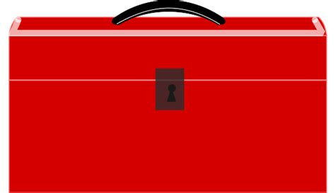 Red Toolbox Svg Clip Arts Download  Clip Arts Free Png Backgrounds