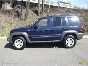jeep liberty sport 4x4 2006 midnight blue pearl jeep liberty sport 4x4 27235389