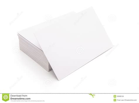 free blank business card blank business cards stock photo image of clean address 30998156