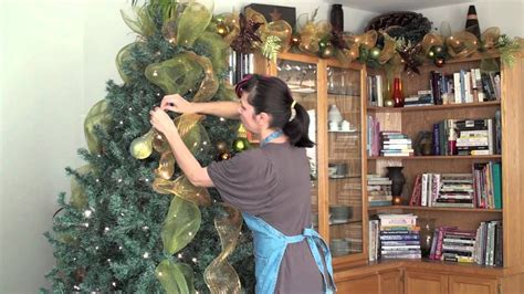 christmas tree decorating sinamay tutorial awesome