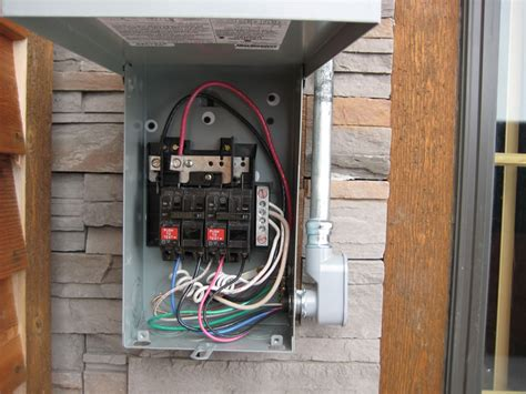tub electrical connection electrician electrical panel cook electric