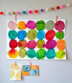 Circle Art Projects for Toddlers