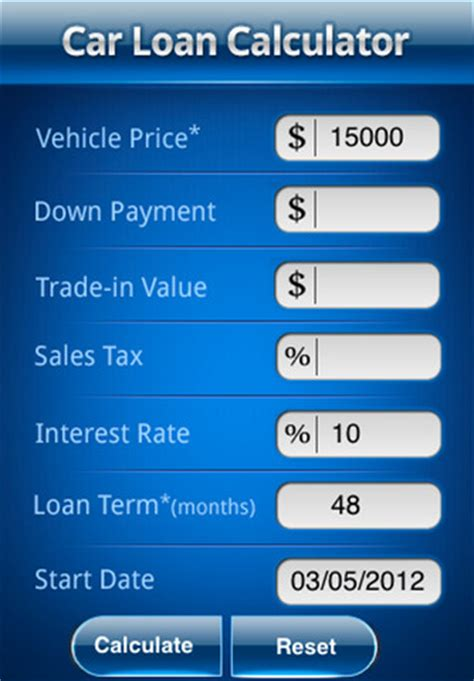 Auto Insurance Calculator by Car Loans Calculator Driverlayer Search Engine