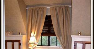 A Lapin Life How To Make Burlap Drapes For Under 15