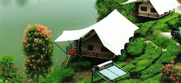 harga kamar tenda  glamping lakeside rancabali