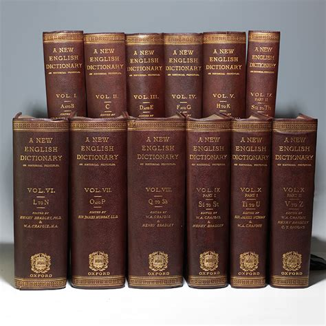 oxford dictionary edition murray