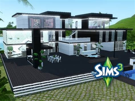 Sims 3  Haus Bauen  Let's Build  Modernes Luxushaus